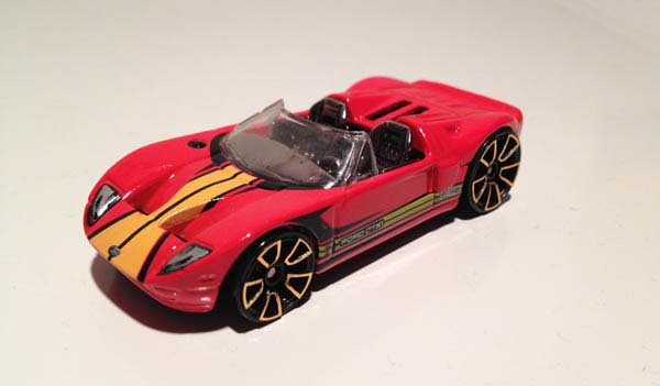 Hot Wheels Ford GTX1 Faster Than Ever 2012